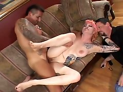 Tattooed muslim gir fuck Loves To Suck And Fuck Two Guys