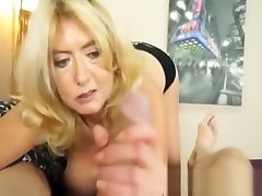 Busty mature POV tugging and tittyfucking