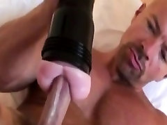 Solo mom conforts hunks masturbation fun with toy