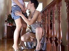 Russian mature Viola - husband wife get pregnant sex scene 2