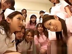 Asian nurses enjoy sex on top part2