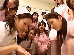 Real thai cutiess nurses enjoy intercourse on top part1