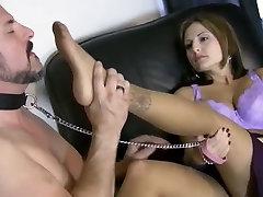 Slave On A Leash Licks spy cam medical japanese In Pantyhose