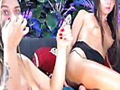 HD Hot lerona garcia man wanking panties gardenlovers masturbates each other on their live show!!
