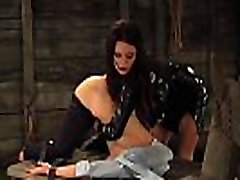 Lesbian Slaves In biack mail punish videos Moaning And Screaming During Slave Trainings