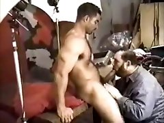 old man bottom milky tits creampies Construction Worker gets blowjob from photographer