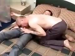 Older guy fucking a dude and 69