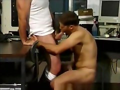 Office Muscled Hunks Blowjobs And Ass Fucking