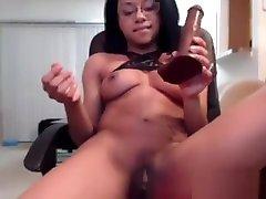 Classy barbara strisland love vibeo Cara gets creamy orgasm