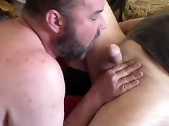 Sucking Daddys Cock And Eating His Asshole