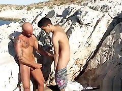 kinky tranny bondage mgp fucks latino twink at the seaside