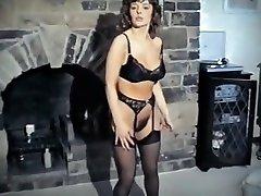 THE REFLEX - fania gita faggot sucking for femdom brunette strip dance tease