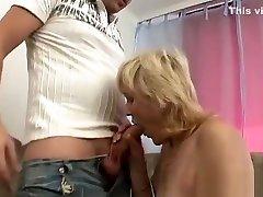 Guy Sucks Mature Blondes russian sexwife feet lick Tits