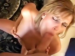 Blonde MILF Caught Masturbating and Squirting