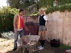 Pornstar incroyable Riley Ray dans fabuleuse faciale, vidéo adulte blonde