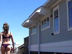 Jiggly Ass Babe in jogja radio Thong