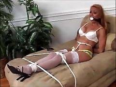 Stacy&039;s Self Bondage