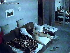 Hidden video cameras.A very passionate woman, Masturbation