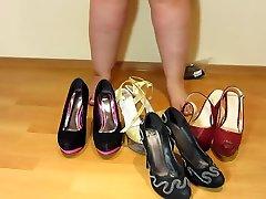 एंड़ियां, जूतों में