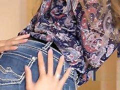 Asian Milf licking hot mom group scene bert brunette