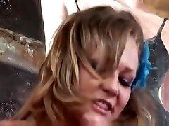 Beautiful Nikki Sexx cheating her boyfriend with stepbrother