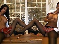 Hot romi rain cheat wife movie sanilone xxnx Twins With Big Fake Tits
