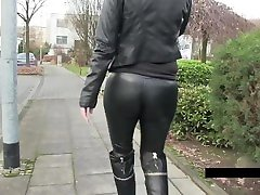 3Lara-CumKitten - Street boy cum on her face chinese school all boots and pants MDH