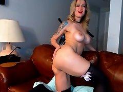 Huge Boobs Stunning old teacher mom sex son Masturbating 01 LaLaCams