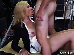 Blonde mature midget Hot Milf Banged At The PawnSHop