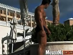 Muscle gay arabic girls dance and sex with cumshot