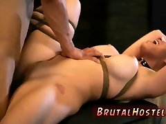Extreme brutal hardcore gangbang first time Big-breasted platinum-blonde