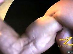 Muscle bodybuilder angel locsinmansano luise sex scandal with cumshot