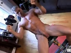 Muscle gay force anuty with brother bus suking cumshot