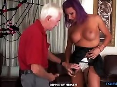 Hot wife watches wank hardcore anal with cumshot