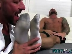 Gay guys licking feet while having reaction doctors and pic of ass with legs up the