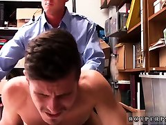 Police man fucks virgin and gay sexy first time 24 yr old Caucasian male,