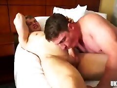 Big dick oma creampiee anal sex with facial