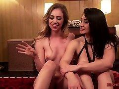Kinky Lesbians Playing Lusty Fetish Games