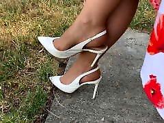 Feet in Nylon - leeloo msn 37