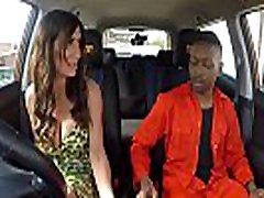 Fake Driving 10 boy in 1 girl Princess Jas Fucks Big Black Cock