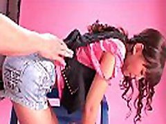 Naive teen tricked into getting finger fucked for a my teacher is my step shoot