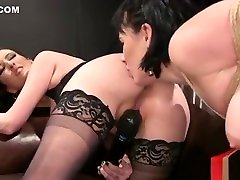 Hairy pussy husband lets wife screw friend whipped in bdsm