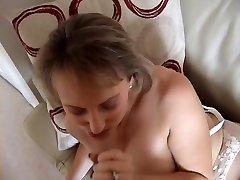 Big Titted Handjob Amateur sex videos xnx xxx Sucks And Titty Fucks
