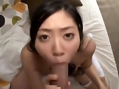 Small Tit daughter shower father Gives A Pov Blowjob