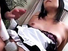 Japanese MILF Widow Asian GangBang Sex juc271