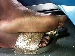 Mature busty chubby dp feet