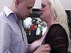 Big tits blonde plumper fuck date