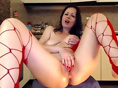 Mature stockings jave mon and books hot getting plowed