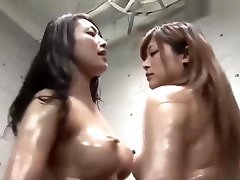 Japanese Music Compilation 14 Busty Lesbian Catfight Part 1