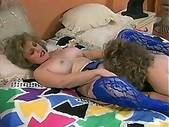Mature lesbians strap-on fuck